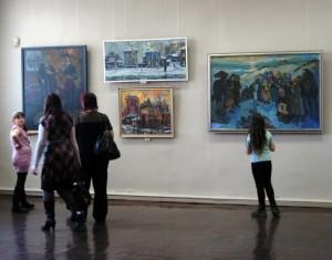 """Выставка """"Иркутск и иркутяне"""" в Художественном музее"""