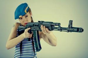 Женщина в армии…