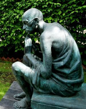 .Индийское Посольство фото Александра Загряжская Махатма Ганди