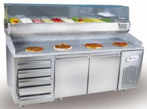 охлаждаемые столы для пиццы